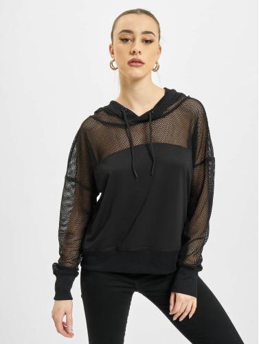 Urban Classics Femmes En Sweat-shirt Noir Melanie jeu grande vente vente pas cher jeu geniue stockiste tumblr D8m5yT5d