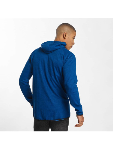 Urban Classics Zip Pulls Molletonnés Hommes En Bleu Chiné Actif Nouveau FNUyzxxh