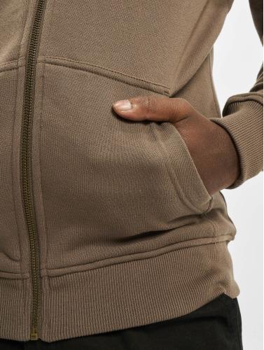 Urban Classics Zip Pulls Molletonnés Hommes En Vert De Base multicolore Manchester pas cher classique livraison rapide réduction réductions Wx75VfmT