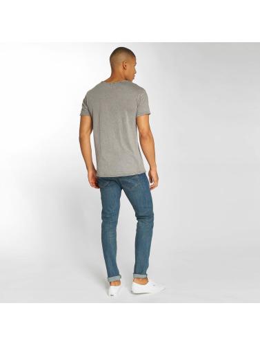 amazon pas cher Surface Urbaine Hombres Camiseta Sur Mesure En Gris recommande la sortie PU7kL28ni3