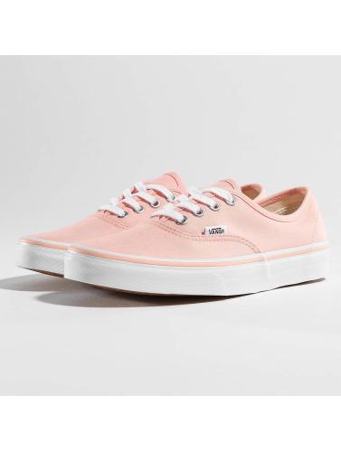 Vans Sneakers Femmes Authentiques En Orange