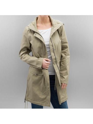Moda Les Femmes Vero De En Manteau Beige Abby Footlocker authentique à vendre v65B9pbx