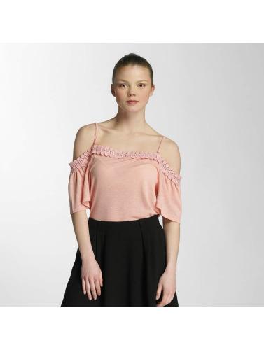 Vero Femmes Moda Dans Vmlua De Chemise Orange bon marché vente nouvelle arrivée q9D3RuaiY7