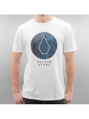 Volcom Hombres Camiseta Craquage De Base En Blanco des photos 2014 nouveau qualité supérieure rabais Footlocker réduction Finishline Livraison gratuite 2014 PTUd1HPD