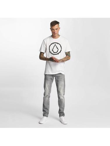 images de vente meilleur fournisseur Volcom Hombres Camiseta Sludgestone De Base En Blanco IlC2ViAdMi