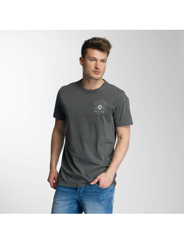 Livraison gratuite vraiment Volcom Hombres Camiseta Nouvel Avenir En Gris ordre de jeu magasin de dédouanement Feuilleter qualité supérieure d3o5W2