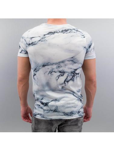 Vsct Clubwear Hombres Camiseta Marbre Blanc Blanco sortie 2015 nouvelle jeu explorer images footlocker vAdjDs