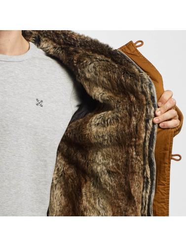 jeu énorme surprise Vsct Hommes Clubwear Veste D'hiver À Double Fermeture Éclair Énorme Luxe Marron vente sneakernews unisexe le plus récent 84vCjq