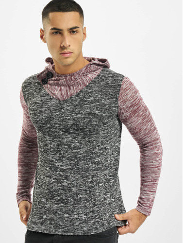Vsct Clubwear Hombres Sudadera 2 Btn Moulinée Capuchon 2 En Couleur Rojo libre rabais d'expédition vue vente mode rabais style Nice 3dFe2cE