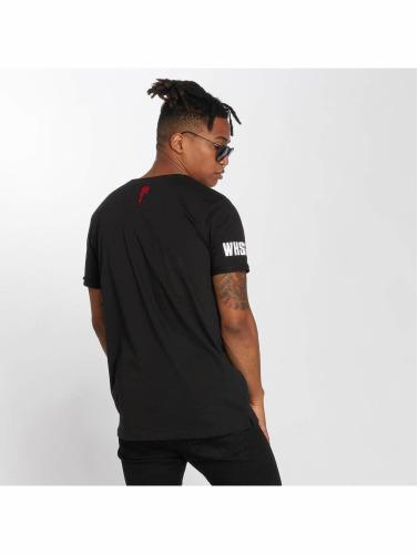Who Shot Ya? Qui Ya Tourné? Hombres Camiseta Whshty In Negro Hombres Camiseta Whshty Negro vente réel KDptSe