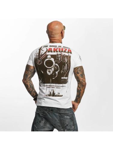 Hommes Yakuza Chemise Blanche Les Dans Havoc NOvmn0w8