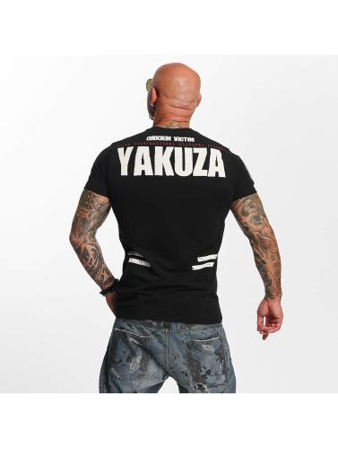 Hommes Yakuza Victime Dans Chockin Chemise Noire Footaction pas cher populaire à vendre vente visite nouvelle v079cFwct