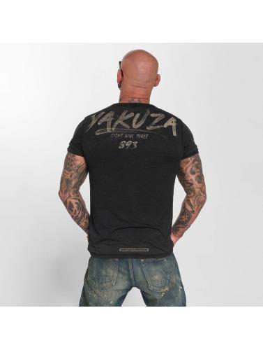 Yakuza Homme Burn-out En Noir