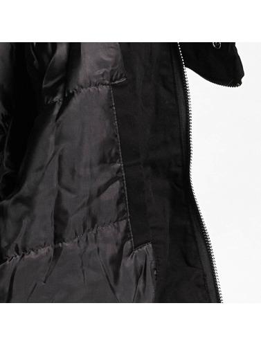 Femmes Yakuza Fleur Veste Hiver Lourd En Noir réal achat authentique HQxDjLV