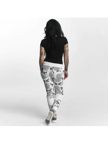 Coût sneakernews libre d'expédition Les Femmes Yakuza Allover Pantalons De Survêtement De Serpent En Blanc vente bas prix choix vente trouver grand ZTClGt6onV
