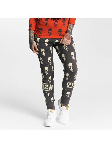 boutique d'expédition moins cher Les Femmes Yakuza Allover Pantalons De Survêtement Gris Crâne agréable TPnoRc1IB6