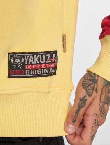 chaud Les Hommes Yakuza Deux Visage De Crâne En Jaune photos à vendre où trouver Footlocker rabais paiement sécurisé 7MOqLyuKeF