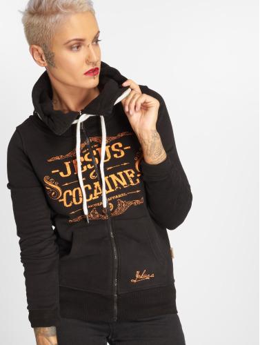 2015 à vendre Les Femmes Fermeture Éclair Sweat-shirt Yakuza Ou De La Cocaïne En Jésus Noir moins cher en ligne officielle photos de réduction kQSRk