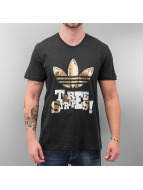 Three Stripes T-Shirt Bl...