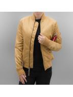 Alpha Industries Bomber jacket MA 1 VF 59 Women gold