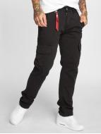 Alpha Industries Cargo pants Agent black