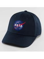 Alpha Industries Snapback Cap NASA blue
