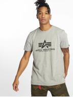 Alpha Industries T-Shirt grau