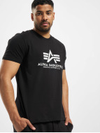 Alpha Industries T-Shirt schwarz