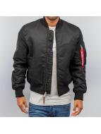 Alpha Industries Winter Jacket Ma 1 Vf 59 black