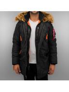 Alpha Industries Winter Jacket PPS N3B black