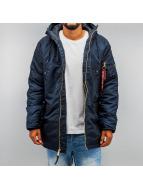 Alpha Industries Winter Jacket N3-B PM blue