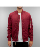 Alpha Industries Winter Jacket MA-1 VF 59 red