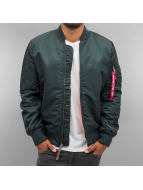 Alpha Industries Winter Jacket MA-1 VF 59 Long turquoise