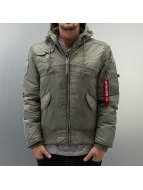 Alpha Industries Winterjacke grau