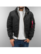 Alpha Industries Winterjacke schwarz