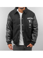 Amstaff College Jacket black