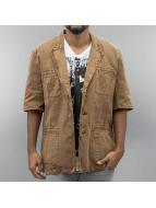 Amsterdenim Shirt Sjaak brown