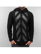 Knitted Hoody Black...