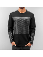 Quilted Longsleeve Black...