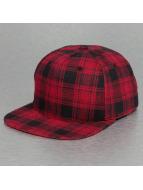 Bangastic Snapback Cap Checked red