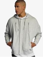 Bangastic AE463 Oversize Zip Hoody Grey