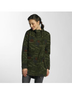Brave Soul Lightweight Jacket Hooded Cotton Twill Unlined camouflage