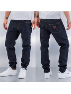Carhartt WIP Straight Fit Jeans Edgewood Klondike II blue