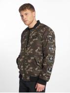 Cavallo de Ferro Bomber jacket Stereo camouflage