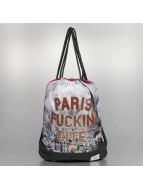 Cayler & Sons Beutel White Label Paris Skyline red