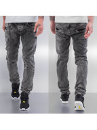 Cazzy Clang Straight fit jeans grijs