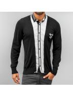 Cipo & Baxx overhemd zwart