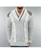 Cipo & Baxx Pullover grau