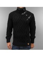 Cipo & Baxx Pullover schwarz
