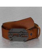 Cipo & Baxx riem Leather bruin